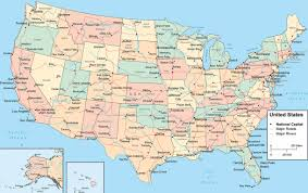 Us Maps Kgapofem Map Of Usa States With Cities United States Cities Map