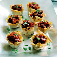 food canapes beef olive and canapés recipe great food magazine
