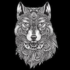 tribal wolf tapestry magazine shop