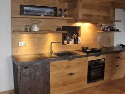 cuisine en chene massif enchanteur facade cuisine bois brut et facade meuble cuisine bois