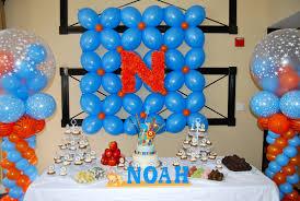 simple balloon decoration ideas for birthday balloon