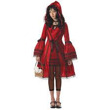 red riding hood halloween costumes buy red riding hood tween costume