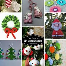 146 free crochet ornament patterns curated by karla s