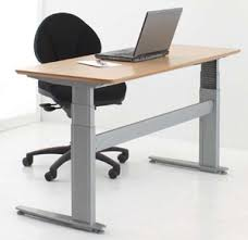 Stand Sit Desk Conset 501 27 Adjustable Height Sit To Stand Electric Lift Desk