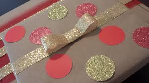 glitter wrapping paper diy wrapping paper bake broil and