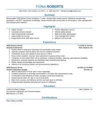 transportation resume exles sle resume of driver mechanic danaya us