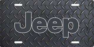 charcoal black jeep charcoal grey jeep license plate license plate license tag