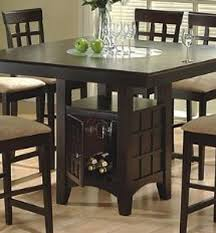 modern design dining table with wine rack stylish inspiration