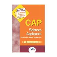 sciences appliqu s cap cuisine cap sciences appliquées librairie gourmande