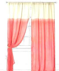 Coral Sheer Curtains Coral Sheer Curtains Coral Fabric Shower Curtains Patterned Sheer