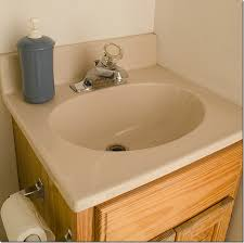 discount bathroom countertops with sink to paint a sink