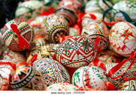 decorated eggs for sale eggs budapest hungary stock photos eggs budapest hungary stock
