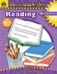 daily warm ups reading grade 6 tcr3492 teacher created resources