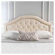 killian upholstered headboard full queen beige christopher