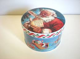 christmas tins 12 best christmas cookie candy tins images on