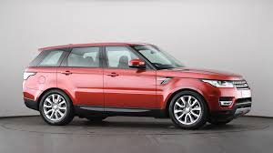range rover pink used land rover range rover sport 3 0 sdv6 hse 5dr auto red