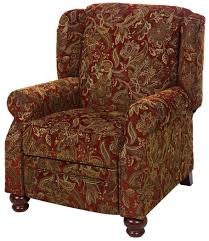 jackson furniture belmont 4347 11 traditional high leg recliner