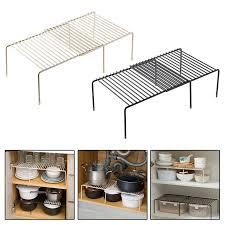 kitchen cupboard storage ideas ebay cupboard shelf wire rack kitchen storage shelf sink