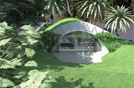 Energy Efficient Homes Plans Underground House Plans And Earth Sheltered Homes Berm Home 4