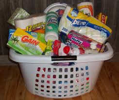 Apartment Warming Gift by Don U0027t Forget The Necessities Laundry Basket Filled With