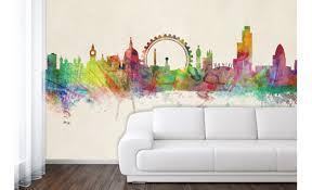 Skyline Wallpaper Bedroom Love London In Your Home Maps International Blog