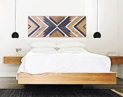 Headboard Wall Decor by Queen Headboard Etsy