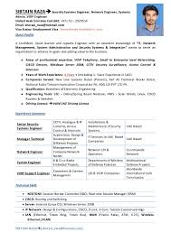 Sample Resume Format For Kpo Jobs by Cisco Resume Contegri Com