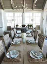 Coastal Dining Room Sets Furniture Lisbon Extendable Dining Table Trendy Beachy Room Sets
