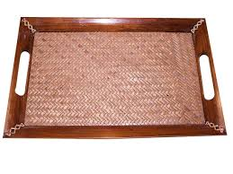 dining table placemats wooden placemats craft montaz wicker serving tray