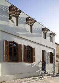 home design white painted exterior wall in awesome classic house