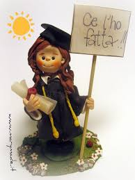 graduation cake toppers cake topper for a graduation translation i did it as i flickr