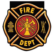 fire truck badge notepads 4 party favors pinterest fire