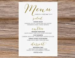 wedding bar menu template sugar wedding calligraphy bar menus