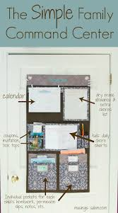 the simple family command center living well