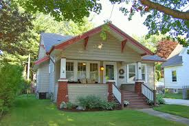 craftsman bungalow style homes interior front door staircase