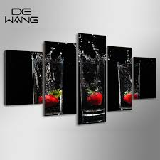 aliexpress com buy 5 panels modern cartoon fruit strawberry