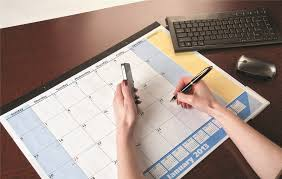 cool desk pad calendars amazon com at a glance quicknotes recycled undated monthly desk
