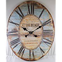 coastal beach wall clocks beachfront decor
