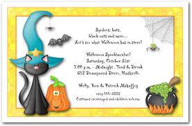 halloween birthday party invitation wording ideas invitations