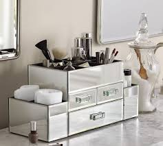 Bathroom Makeup Organizers Wonderful Bathroom Makeup Organizers Boxes And Baskets G To