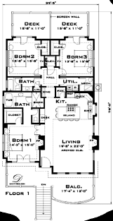 Florida Cracker Houses Country Style House Plan 3 Beds 2 00 Baths 1965 Sq Ft Plan 64 135