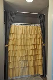 Black Ruffle Shower Curtain Best 25 Ruffle Shower Curtains Ideas On Pinterest White Ruffle