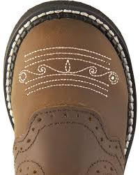 justin light up boots justin girls gypsy light up cross embroidered cowgirl boots sheplers
