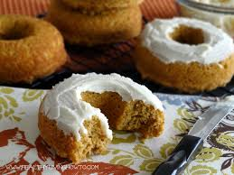 pumpkin donuts with vanilla buttercream frosting healthy living