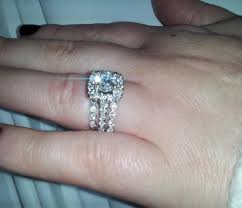 how to wear wedding ring set let me see your engagement ring weddings stuff