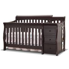 Convertible 4 In 1 Cribs Sorelle Tuscany 4 In 1 Convertible Crib And Changer Espresso