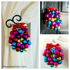 creative christmas countdown mini bauble ornament wreaths the