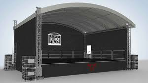 outdoor stages festival stage hire covered staging outdoor