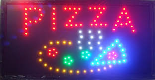shop open sign lights 2017 led pizza store open sign sale 10x19 inch semi outdoor