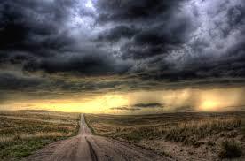 imagenes en negras soñar con nubes negras que significa
